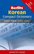 Korean Compact Dictionary: Korean-English/English-Korean