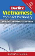 Berlitz Vietnamese Compact Dictionary (Berlitz Compact Dictionary)