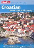 Croatian Phrase Book & Dictionary (Berlitz Phrase Book & Dictionary) Cover