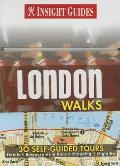London Walks With 30 Self Guided Tour Cards