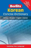 Berlitz Korean Concise Dictionary