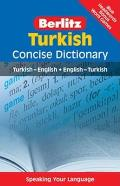 Berlitz Turkish Concise Dictionary Cover