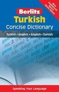 Berlitz Turkish Concise Dictionary