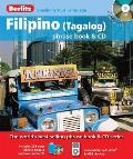 Filipino Tagalog Phrase Book & CD with Paperback Book