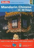 Mandarin Chinese in 30 Days with Paperback Book(s) (Berlitz in 30 Days)