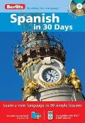 Spanish in 30 Days with Paperback Book(s) (Berlitz in 30 Days)