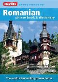 Berlitz Romanian Phrase Book &amp; Dictionary (Berlitz Phrase Book &amp; Dictionary) Cover