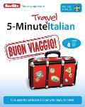 5-Minute Travel Italian [With CD (Audio)] (5-Minute Travel)
