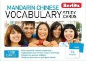 Berlitz Mandarin Chinese Vocabulary Study Cards (Berlitz Study Cards)