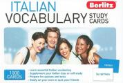 Italian Vocabulary Study Cards (Study Cards)