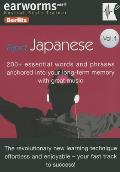 Rapid Japanese, Volume 1 [With Phrase Book] (Earworms: Musical Brain Trainer)