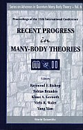 Recent Progress in Many-body Theories: Proceedings of the 11th International Conference: Manchester, UK, 9-13 July 2001