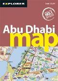 Abu Dhabi Map, 3rd