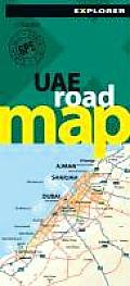 Uae Road Map Explorer, 2nd
