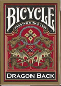 Playing Cards Bicycle Dragon Gold