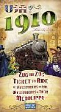 Ticket to Ride USA 1910 Game Expansion