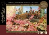 The Roses of Heliogabalus: 1000-Piece Velvet-Touch Jigsaw Puzzle [With Print]