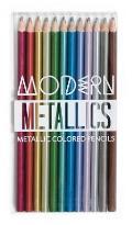 Modern Metallics Colored Pencils Set Of 12