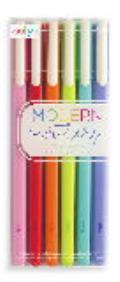 Modern Writers Gel Pens - Set of 6