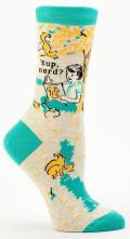 Sup Nerd Crew Socks