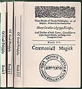 Three Books of Occult Philosophy or of Magick 3 Volumes