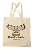 Powells Owl Tote Bag