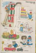Vintage Richard Scarry 7 Piece Puzzle Frame Tray
