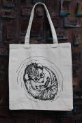 Hedgehog Canvas Tote Bag Marci MacFarlane