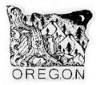 Oregon 4 Inch Vinyl Sticker