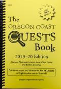 The Oregon Coast Quests Book: 2019 - 2020 Edition
