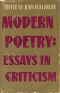 Modern Poetry Essays In Criticism