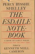 Esdaile Notebook A Volume of Early Poems