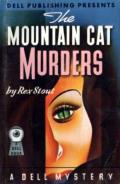 The Mountain Cat Murders: Dell Mapback 28