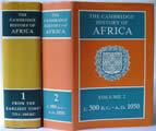 Cambridge History Of Africa 8 Volumes