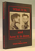 What It Is & How It Is Done 2nd Edition Signed