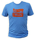 Powell's Blue Oregon T-Shirt (Medium)