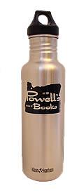 Powells Black 27 oz Klean Kanteen Bottle