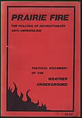 Prairie Fire The Politics of Revolutionary Anti Imperialism