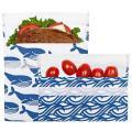Blue Whale Velcro 2 Pack Bag Set