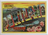 Greetings from Portland Lantern Press Magnet