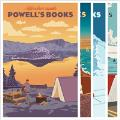 Powell's Adventure Awaits Set of 12 Postcards Set