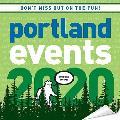 Cal20 Portland Events Wall Calendar