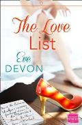 Love List: Harperimpulse Contemporary Romance