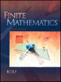 Finite Mathematics 5TH Edition
