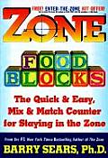 Zone Food Blocks The Quick & Easy Mix & Match Counter for Staying in the Zone