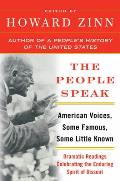 People Speak American Voices Some Famous Some Little Known Dramatic Readings Celebrating the Enduring Spirit of Dissent