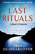 Last Rituals (Thóra Gudmundsdóttir #1)