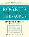 Rogets International Thesaurus 7th Edition