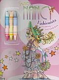 Fancy Nancy: Fashionista: A Coloring and Activity Book [With 3 Crayons]