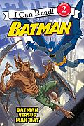 Batman Classic Batman versus Man Bat